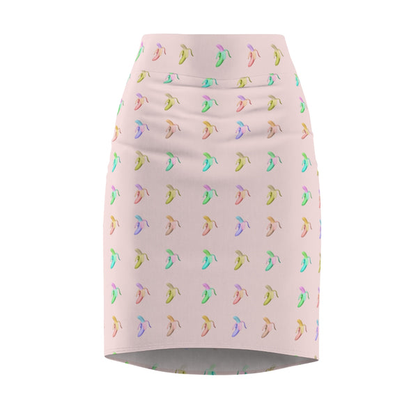 Banana Split Pencil Skirt