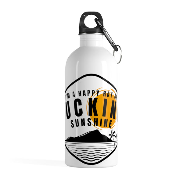 I'm a ray of Sunshine Stainless Steel Water Bottle