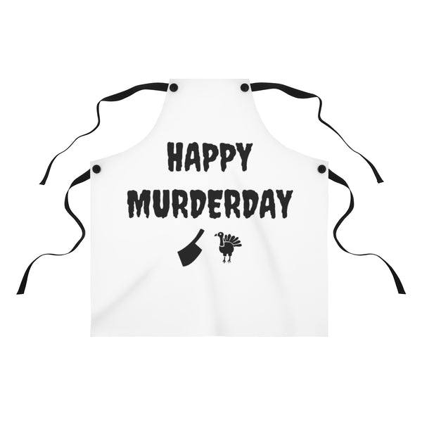 Happy Murderday Apron
