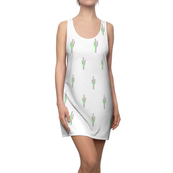 Cactus Heat Swim Cover Racerback Dress