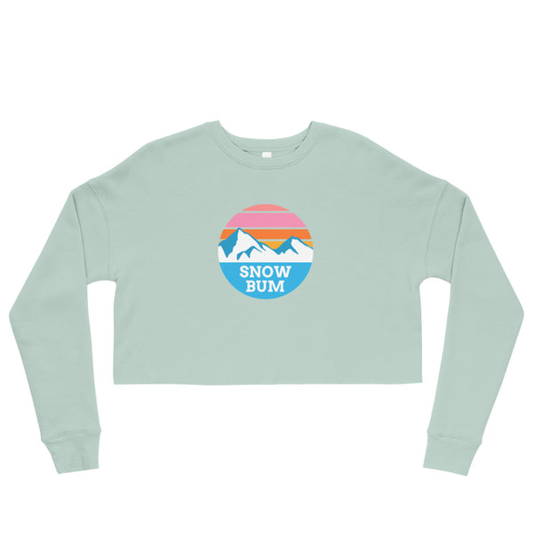 Snow Bum Crop Sweatshirt