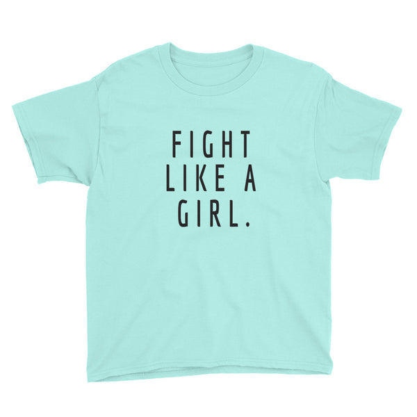 Fight like a Girl Youth T-Shirt