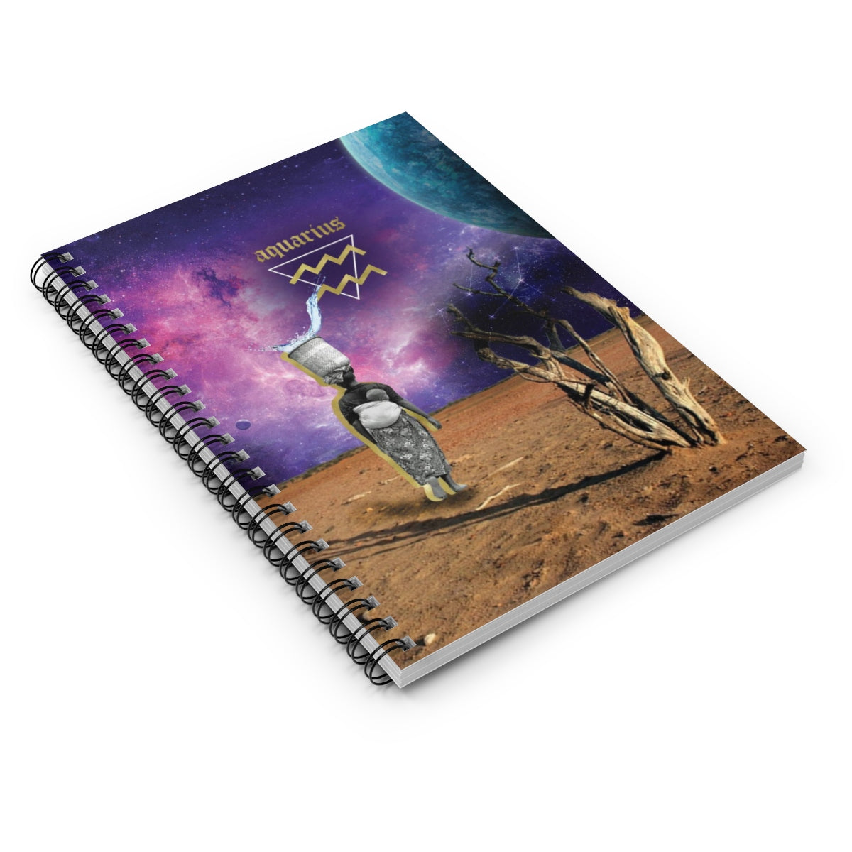 Aquarius Notebook - #ChildishZodiac