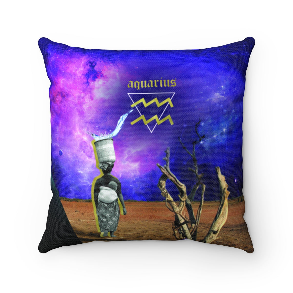 Aquarius Pillow - #ChildishZodiac