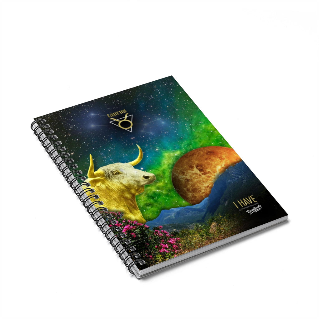 Taurus Notebook - #ChildishZodiac