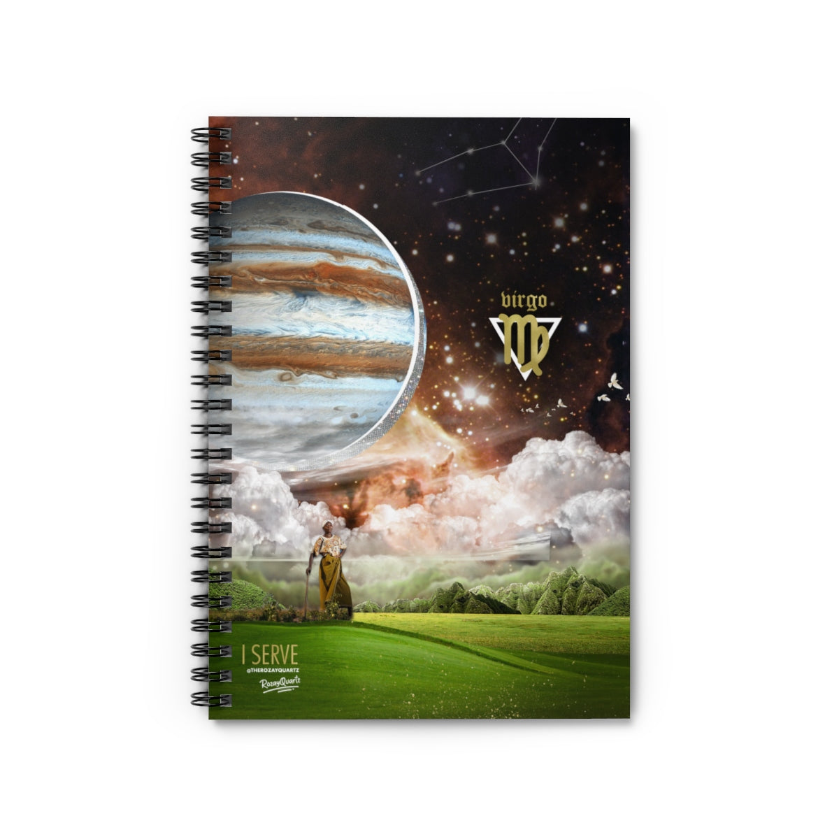 Virgo Notebook - #ChildishZodiac