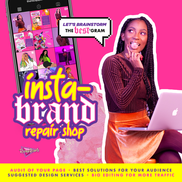 Insta-Brand Repair Shop (Video/Phone Consult)