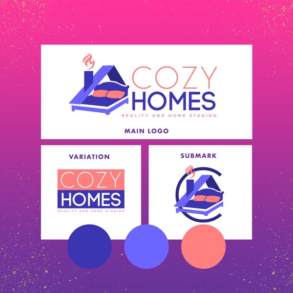 Cozy Homes Realty and Home Staging Brand