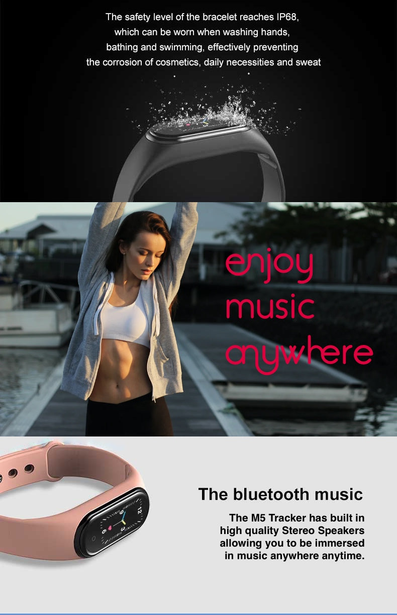 M5 Multifunctional Fitness Music Speakers