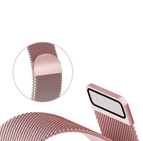 Milanese Loop with Magnetic Clasp for Apple Watches