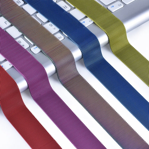 The Milanese Loop for your Apple Watch available in many colours.