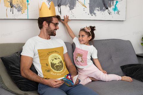A Papa Bear T Shirt Gift for Dads