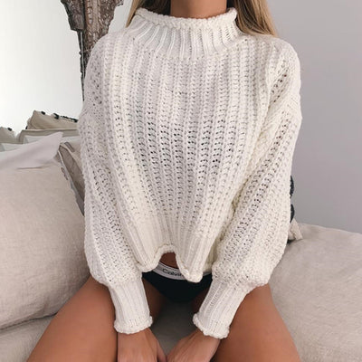 Women's Shaker Knit Pullover Sweater - Women's Clothing - buy epic deals