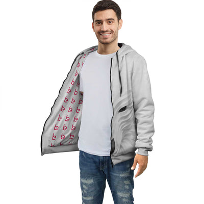 Cyber Wolf Hoodie For Men