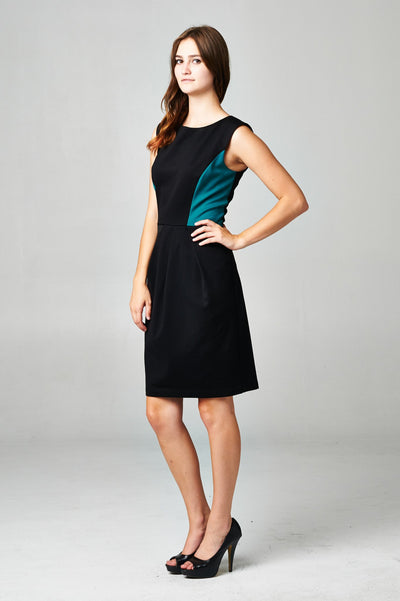 Women's Sleeveless Colorblock Dress - buyepics - buy epic deals