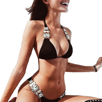 Epic Bikini Sets Decorated with Gems 💎 and Chains
