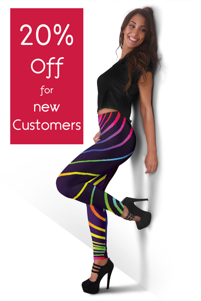 Rainbow Leggings -  - buy epic deals
