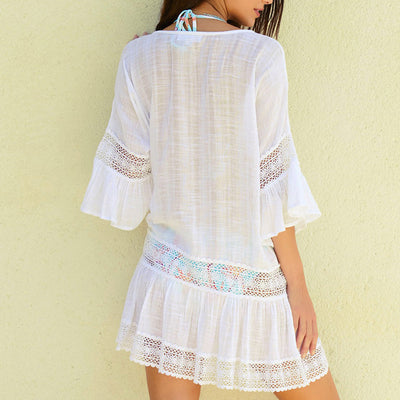 Summer Beach Dress Lace Cover-up - Women's Clothing - buy epic deals