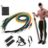 11 piece  set Fitness Resistance Bands - Equipment & Accessories - buy epic deals