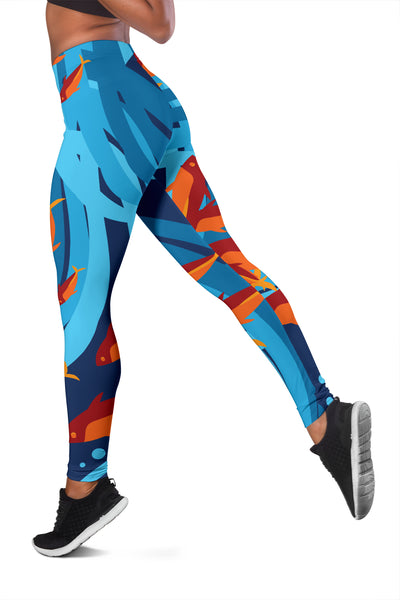 Under The Sea Yoga Leggings -  - buy epic deals