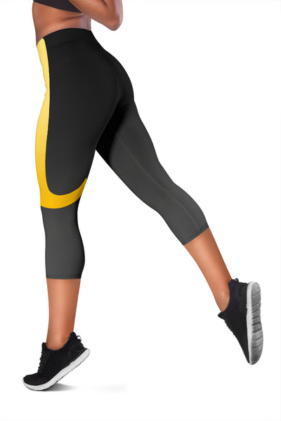 Rena Gold Design Capris - Leggings - buy epic deals