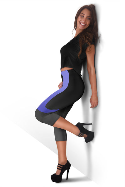 Rena Violet Design Capris - Leggings - buy epic deals