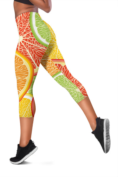 Citrus Slice Women's Capris - buyepics - buy epic deals