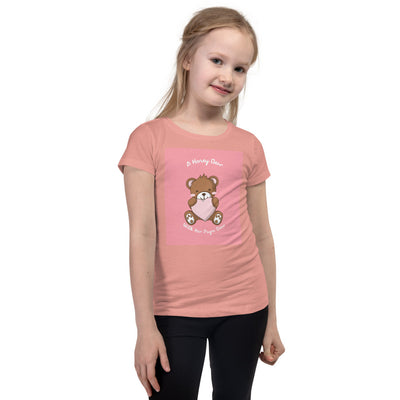 A Honey Bear With Her Papa Girl's T-Shirt -  - buy epic deals