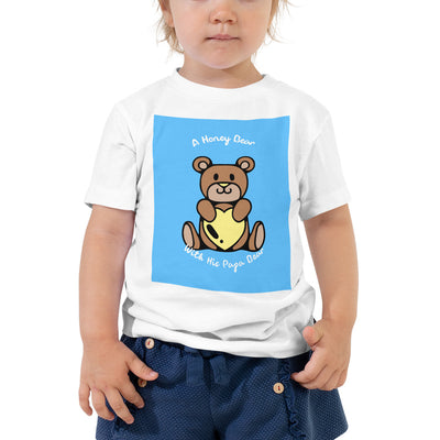 A Honey Bear with His Papa Bear Toddler Short Sleeve Tee -  - buy epic deals