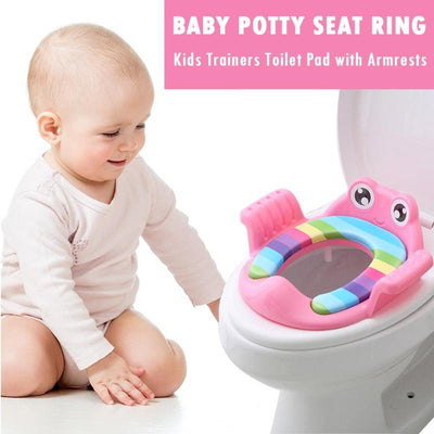 Baby Toilet Potty Seat With Armrest for Girls and Boys -  - buy epic deals