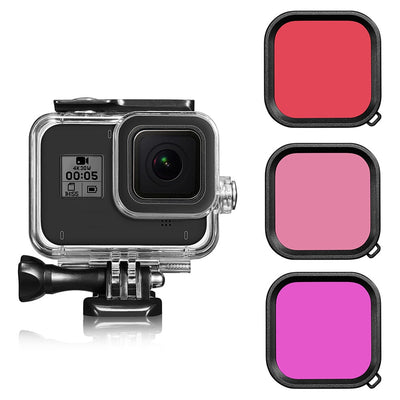 Waterproof Housing Shell for GoPro Hero 7/2018/6/5 series Protective 45mm Case for Go Pro Cameras - Accessories - buy epic deals