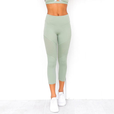 Women's 2 Piece Yoga Fitness Set Gym Workout Leggings with Top 😍 -  - buy epic deals