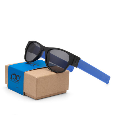 Polarized Mirrored Folding Sunglasses Color that snap to your wrist. - Accessories - buy epic deals