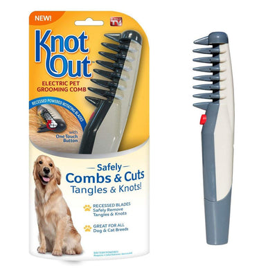 Electric Pet Grooming Comb Anti-Knot Grooming tool for Long Haired Dogs and Cats - Electric Comb - buy epic deals