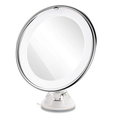 7X Magnifying Makeup Mirror LED Illuminated - 360 ° Rotating Cosmetic Mirror with Suction Cup Locking Base - Mirror - buy epic deals