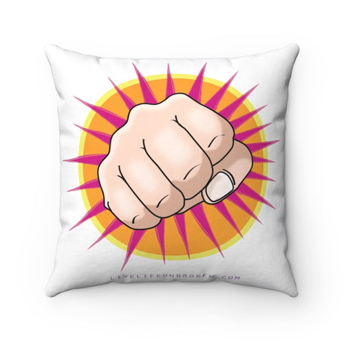 Anger Work Pillow - Fist Punch!