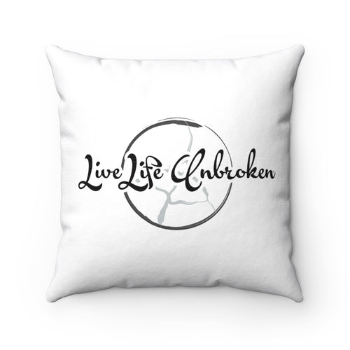 Anger Work Pillow - Live Life Unbroken
