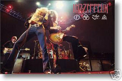 Led Zeppelin Duo, Poster