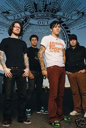 Fall out boy Friend or enemy, Poster