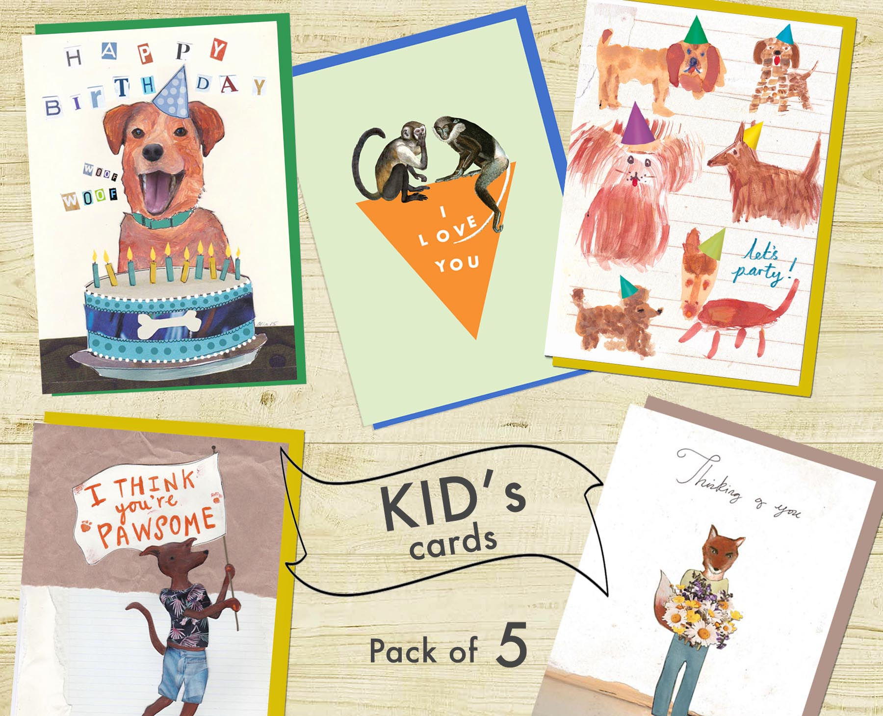 Children's Card Set