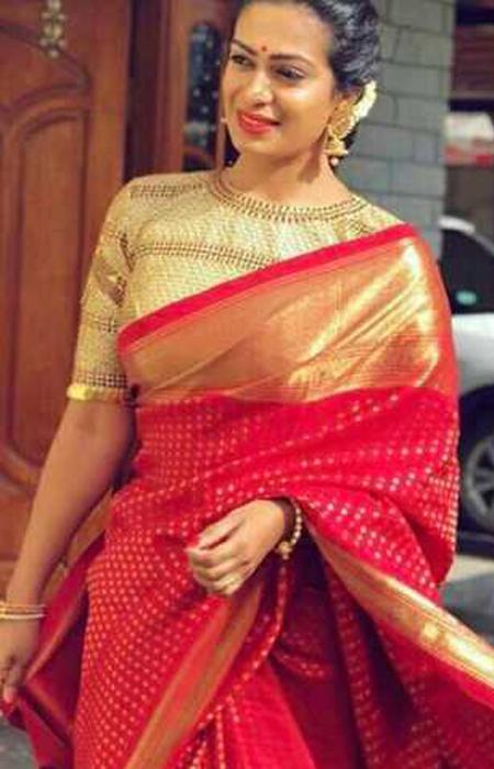 Dapper Red Color Designer Soft Silk Saree SC3004