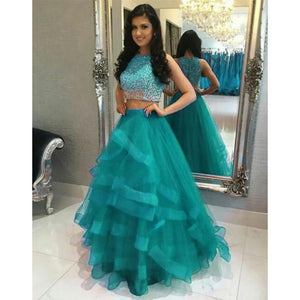 Blissful Hot Blue Color Designer Embroidered Lehenga Choli TTLG-36