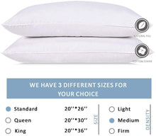 Load image into Gallery viewer, Wht Goose 5/95 Bed Pillow  -Std.  (10)