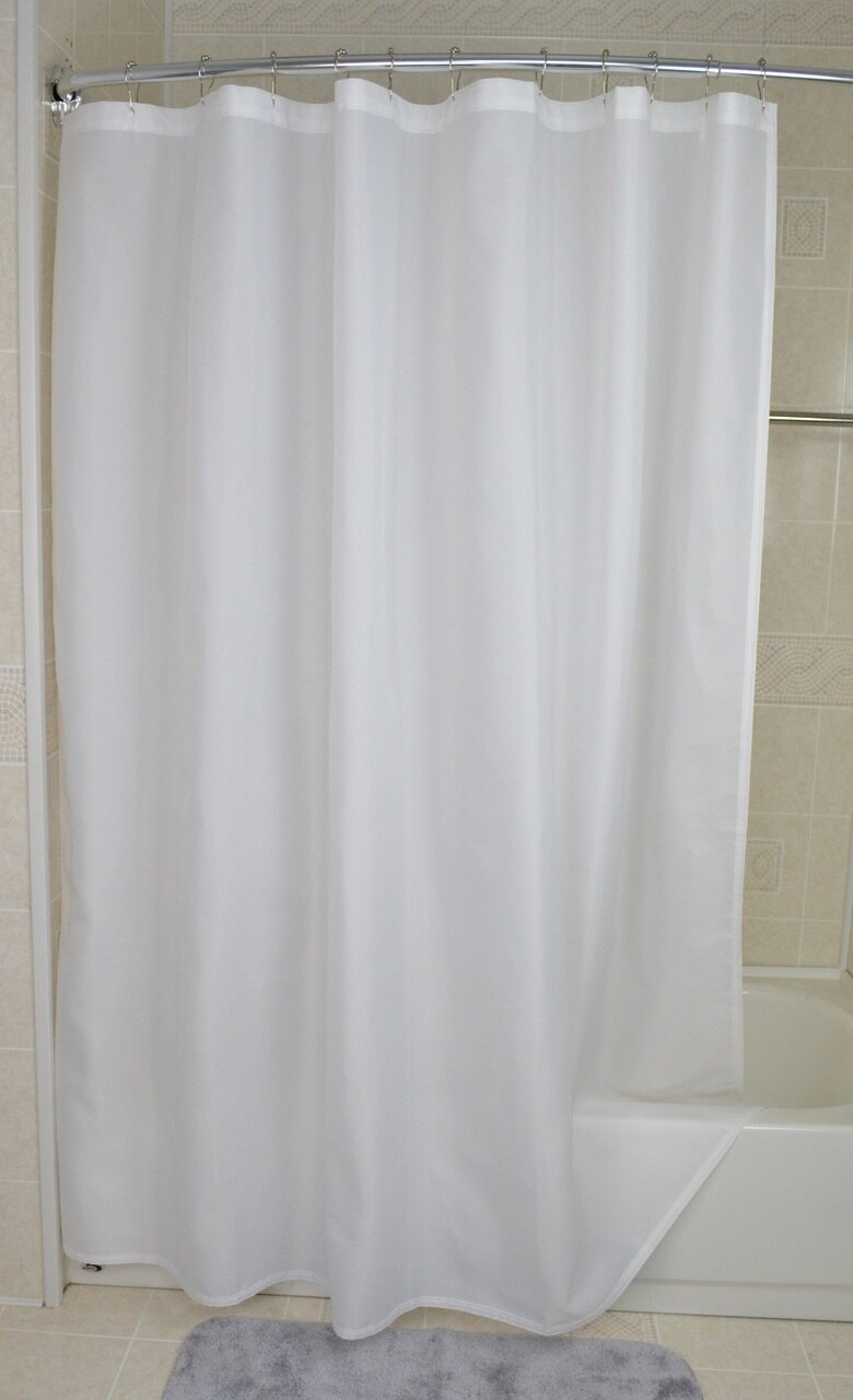 Shower Liner NylonFabric  -72 X108 - White