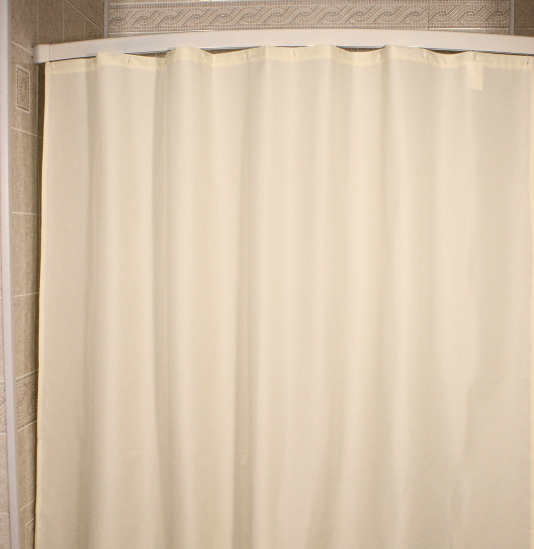 Shower Liner NylonFabric - 72 X 96 - Beige