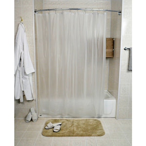 Shower Liner Omega 8-gauge Vinyl -72 X 72 - Frosty