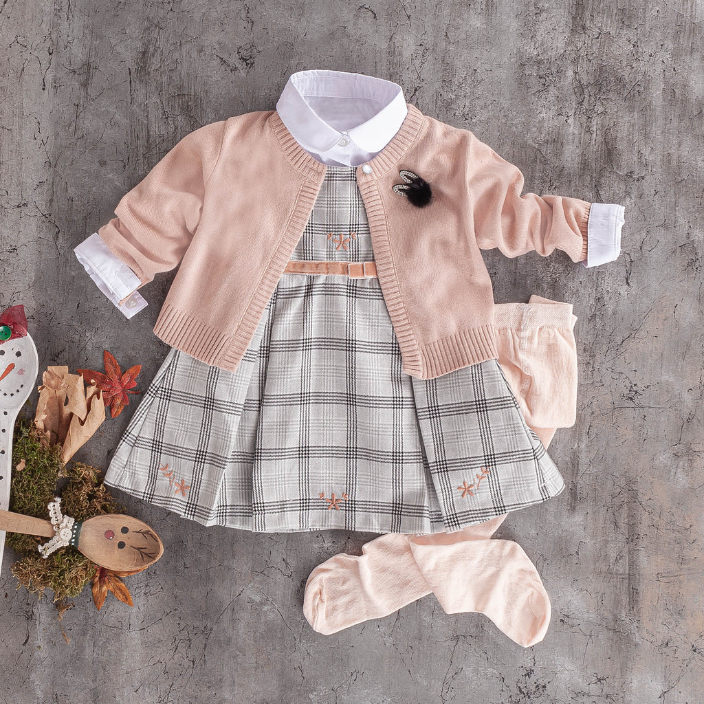 baby girls cotton casual dress