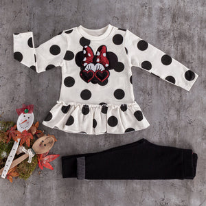 girls baby 2PC  cotton leggings set