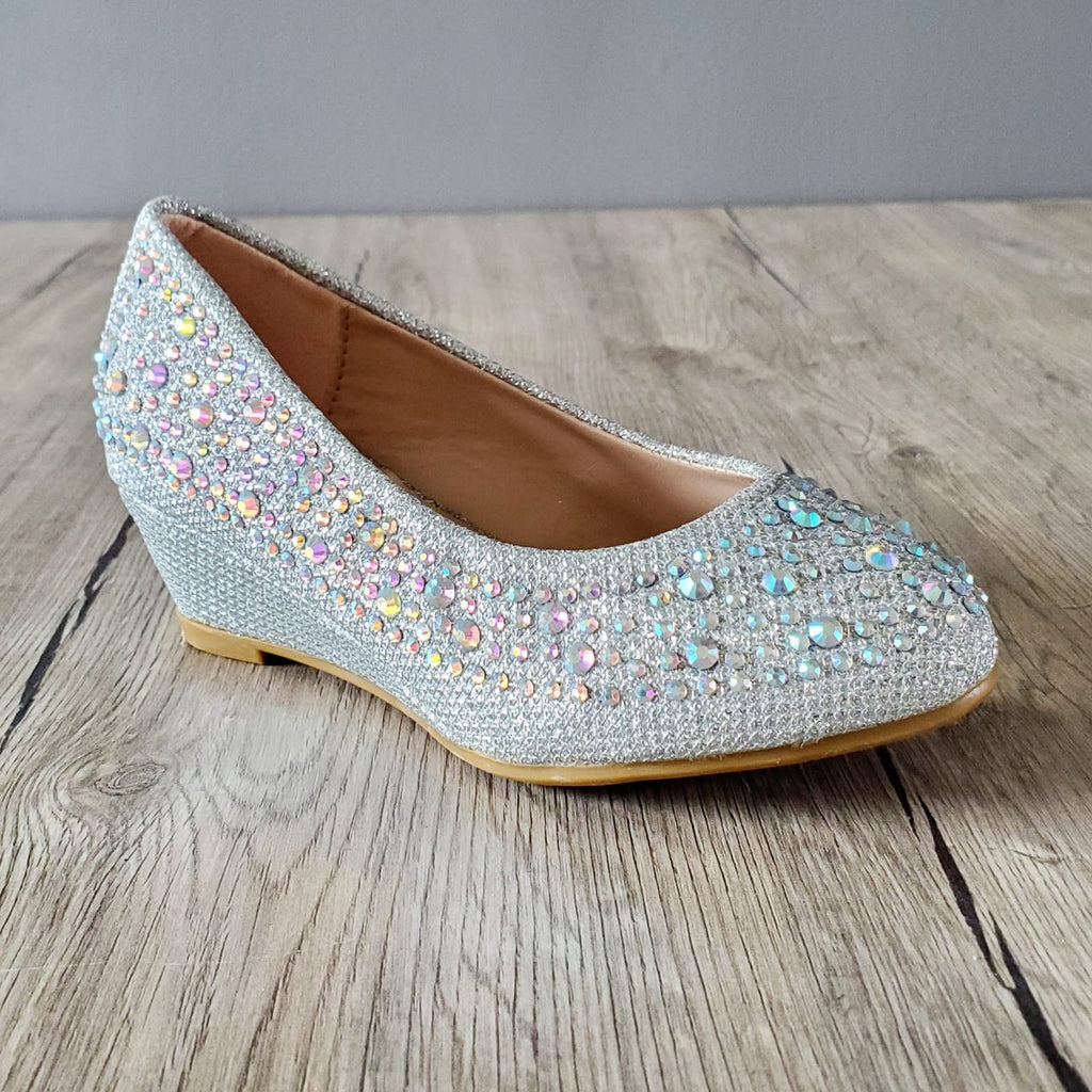 Rhinestones Girl Shoes