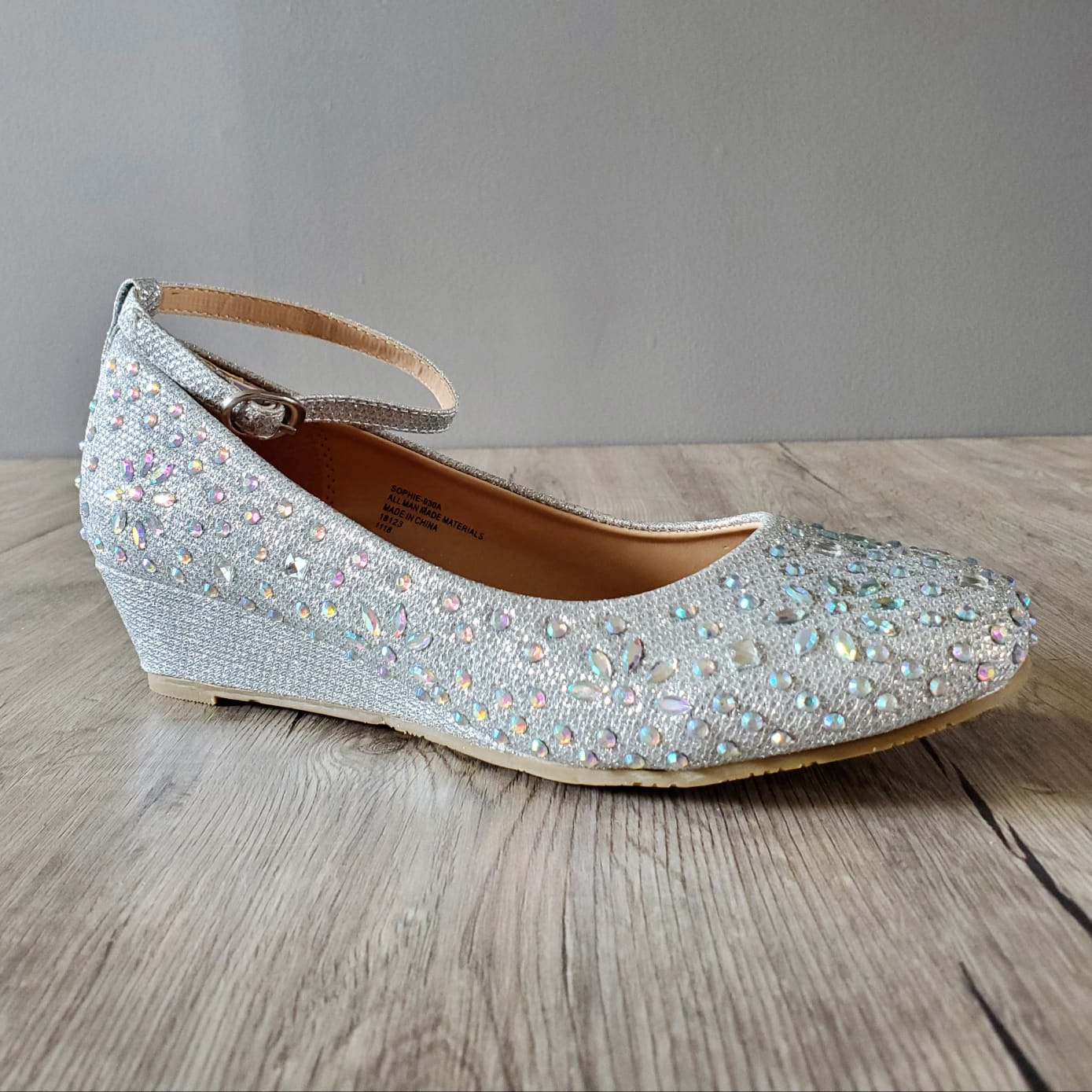 Wedgy Bling Shoes